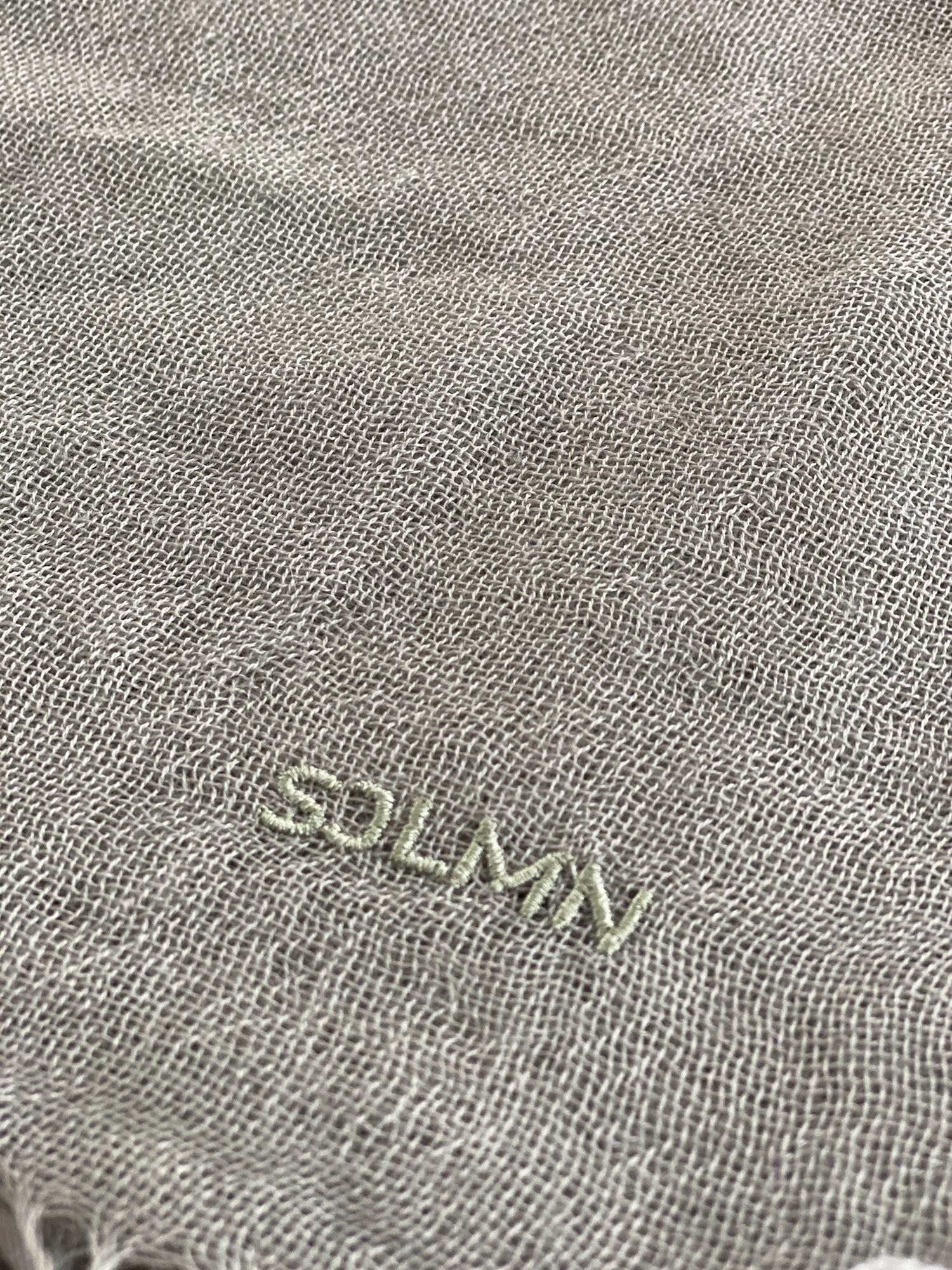 sjaal SjaalMania Cashmy Seagrass