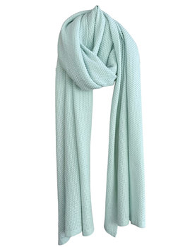 Sjaal SjaalMania Cosy Eco Cotton Green Mist