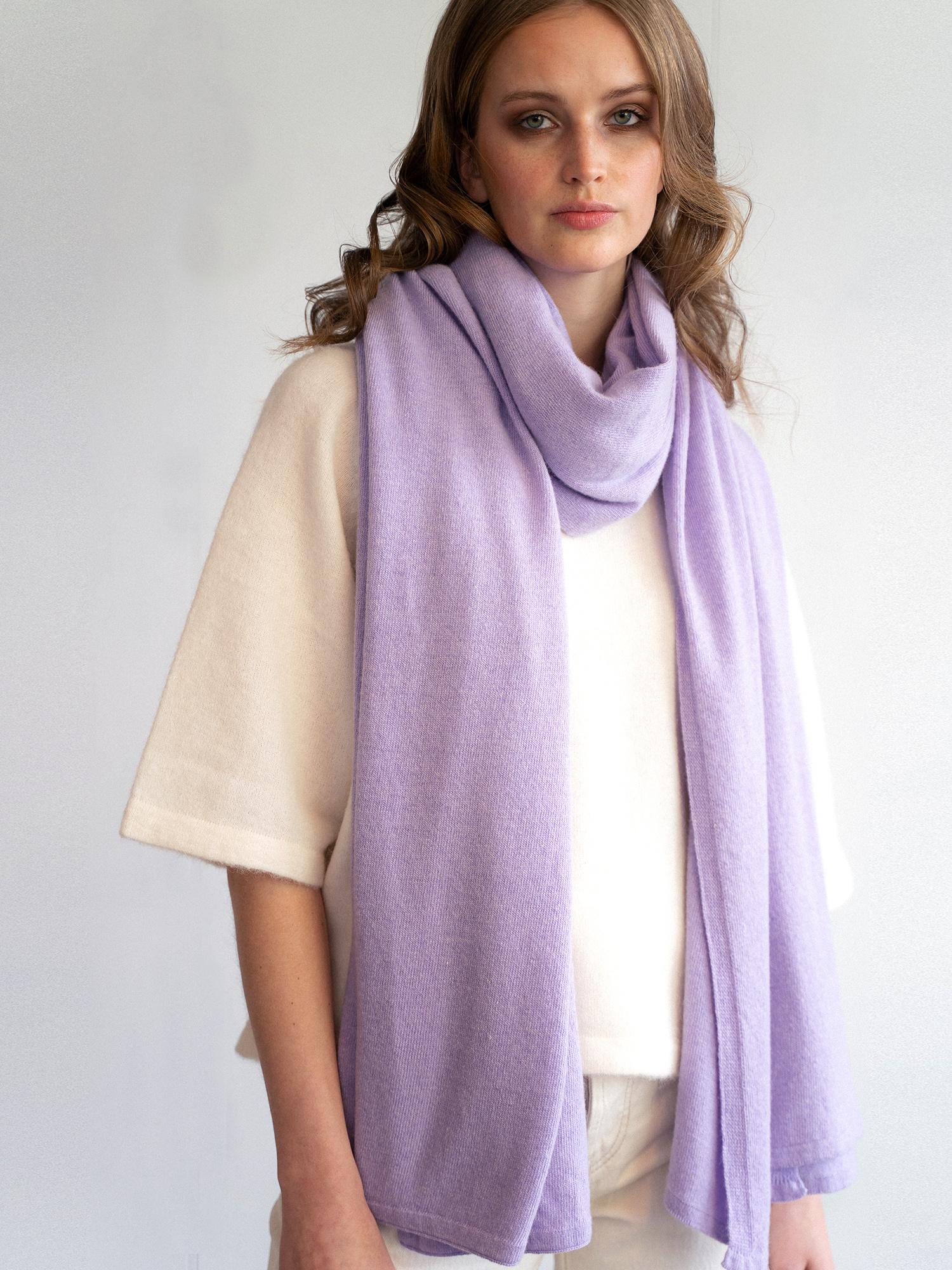 Sjaal SjaalMania Cosy Chic Lavender