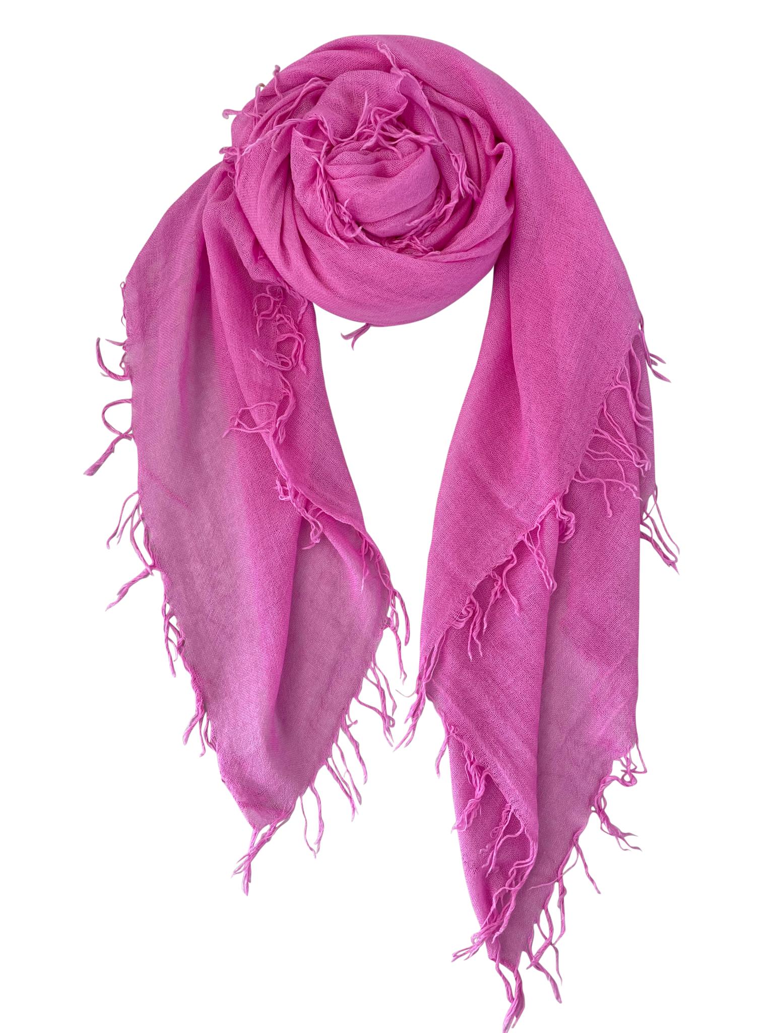 Sjaal Cosy Cashmy Super Pink