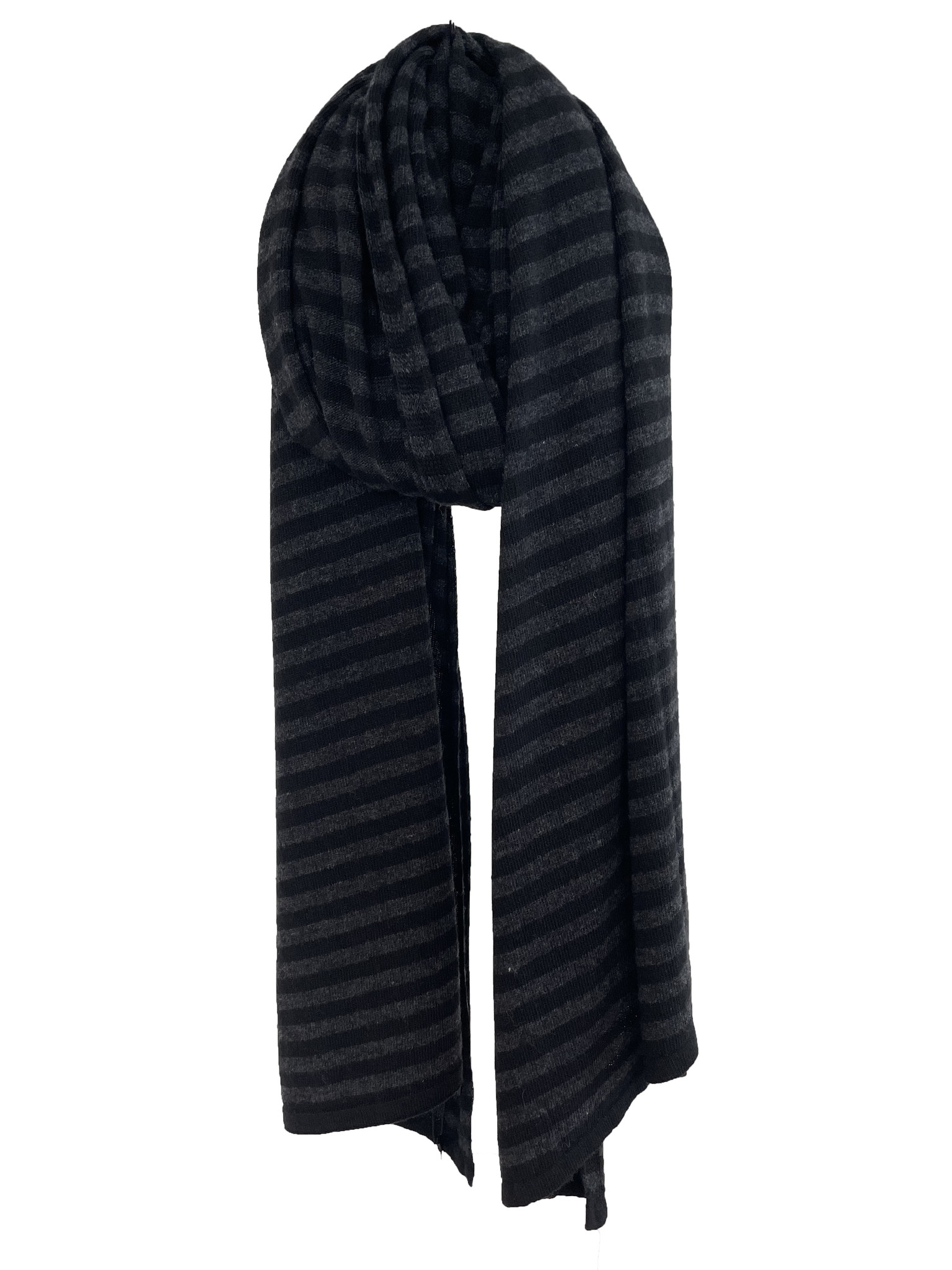 Cosy Chic Stripes Solid Black – Black Melee