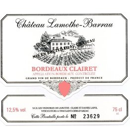 CHAT. LAMOTHE BARRAU Bord. Clairet PROMO 12+2