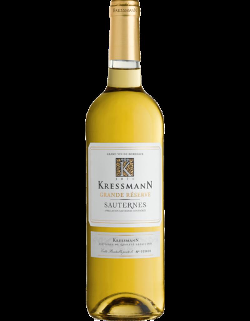 KRESSMANN GRANDE RESERVE Sauternes KRESSMANN SAUTERNES GRANDE RESERVE  2017