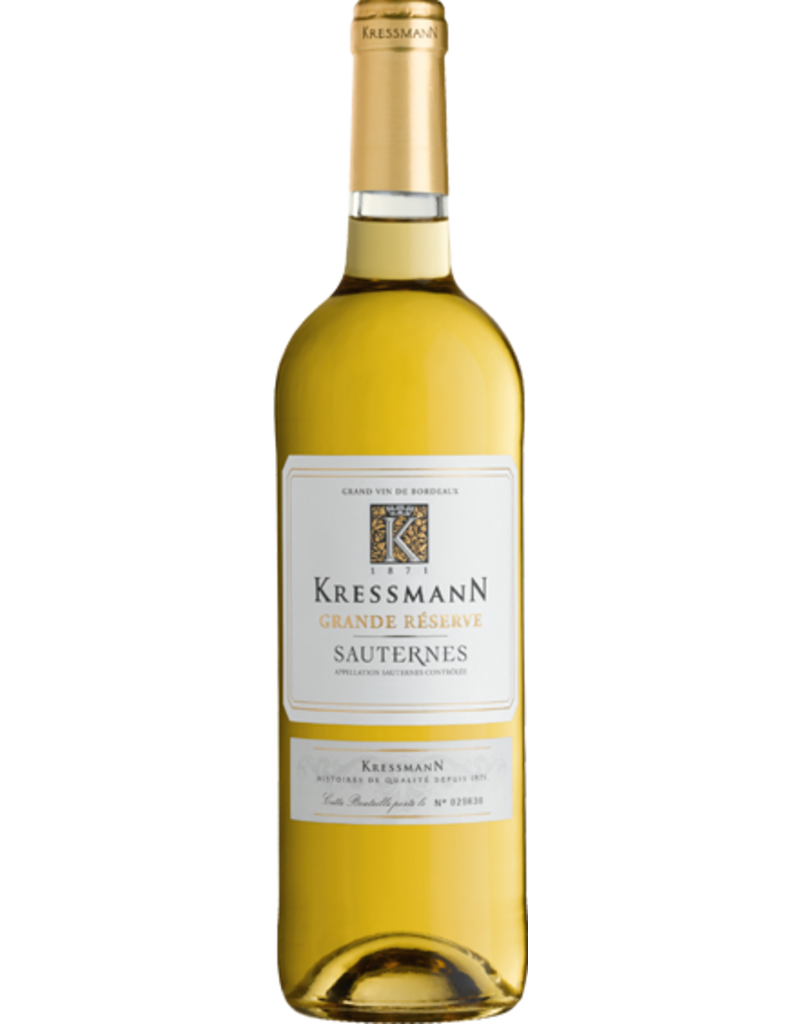 KRESSMANN SAUTERNES GRANDE RESERVE  2017