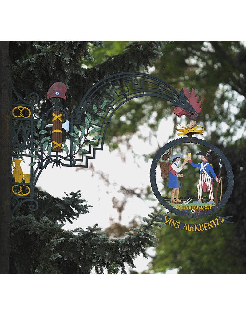 EDELZWICKER Alphonse Kuentz - Alsace - literfles