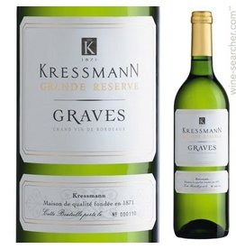 KRESSMANN Graves blanc sec PROMO 12+1