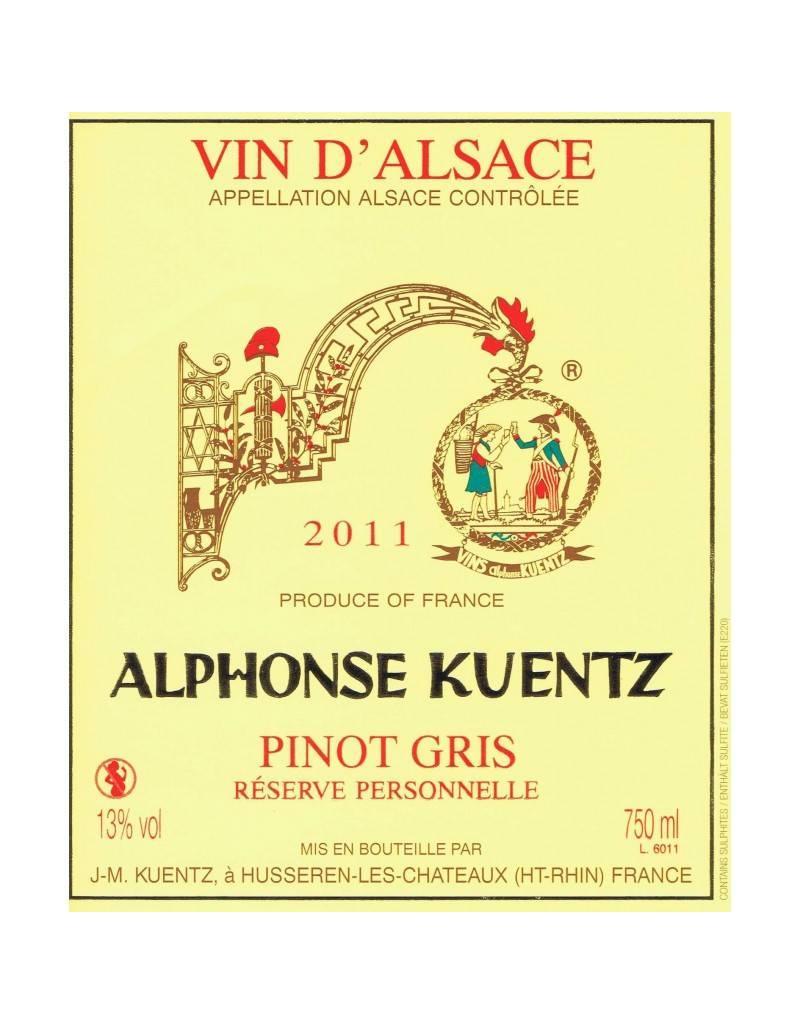 PINOT GRIS D'ALSACE A. Kuentz