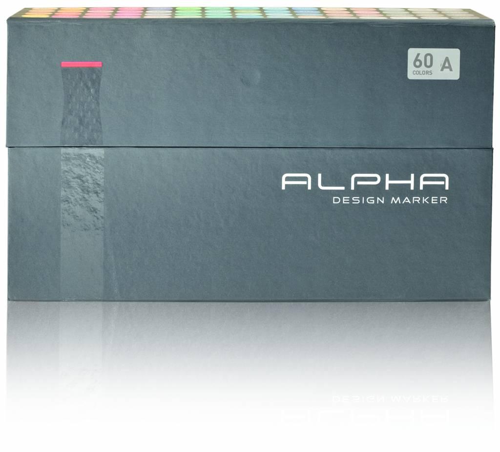 Alpha DESIGN MARKER 60er Set A