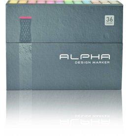 Alpha DESIGN MARKER 36er Set
