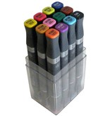 Alpha DESIGN MARKER 12er Main Color Set