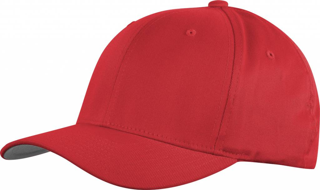 Flexfit WOOLY COMBED 6277 Cap red/grey