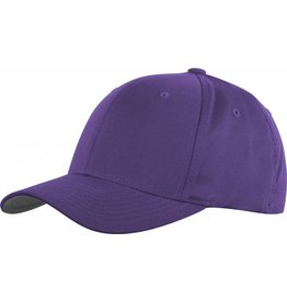 Flexfit WOOLY COMBED 6277 Cap purple/grey