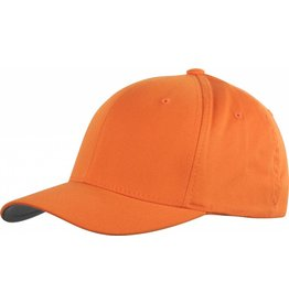 Flexfit WOOLY COMBED 6277 Cap orange/grey