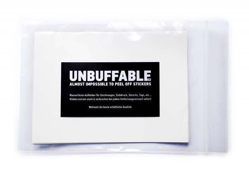 Unbuffable Sticker M