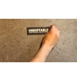 Unbuffable Sticker L