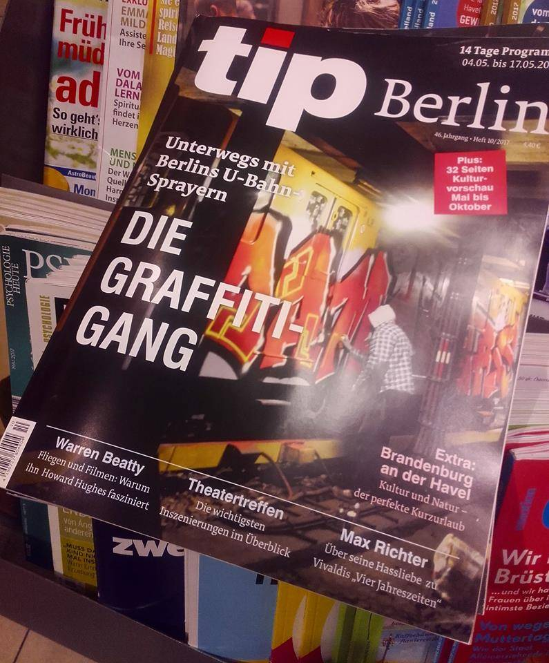 Damagers 2 Graffiti DVD Berlin