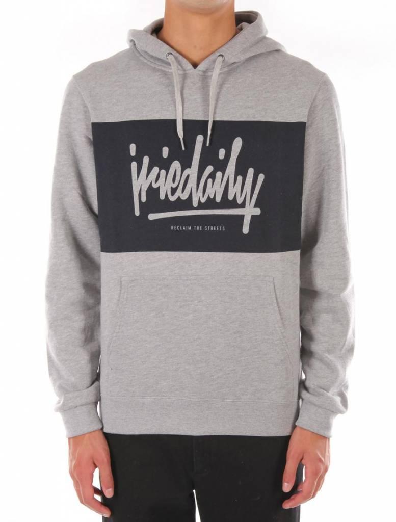 Iriedaily TAGG Hooded - grey-mel.