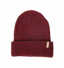 Iriedaily SMURPHER LIGHT BEANIE - anthra red