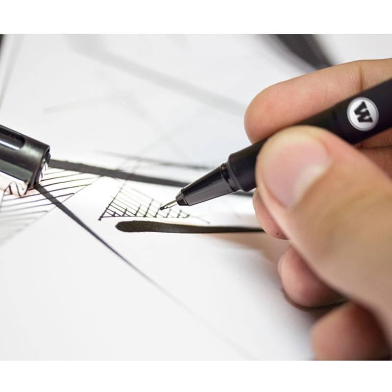 Molotow Blackliner 4x Marker Set 1