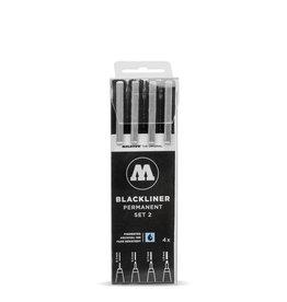 Molotow Blackliner 4x Marker Set 2