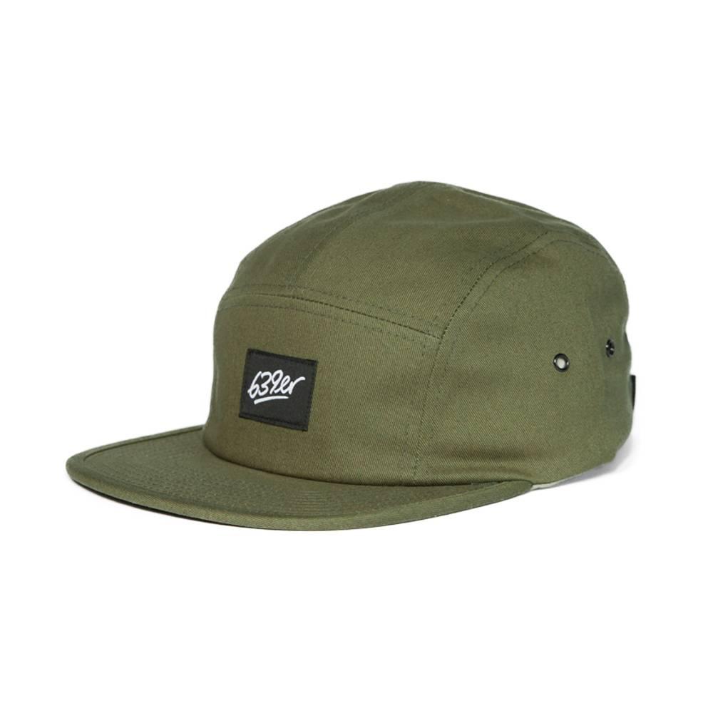 639ER 5 PANEL CAP olive