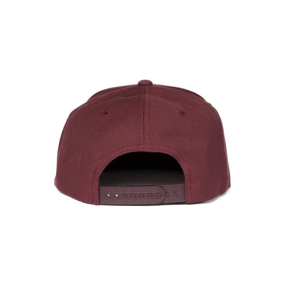 639ER SNAPBACK CAP maroon