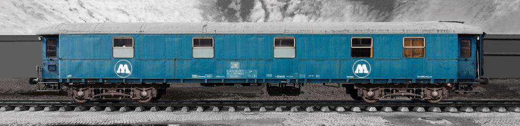 Molotow Relief Train klein - groß  65 x 15 cm