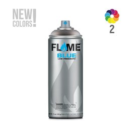 Flame BLUE Transparent 400ml Sprühdose