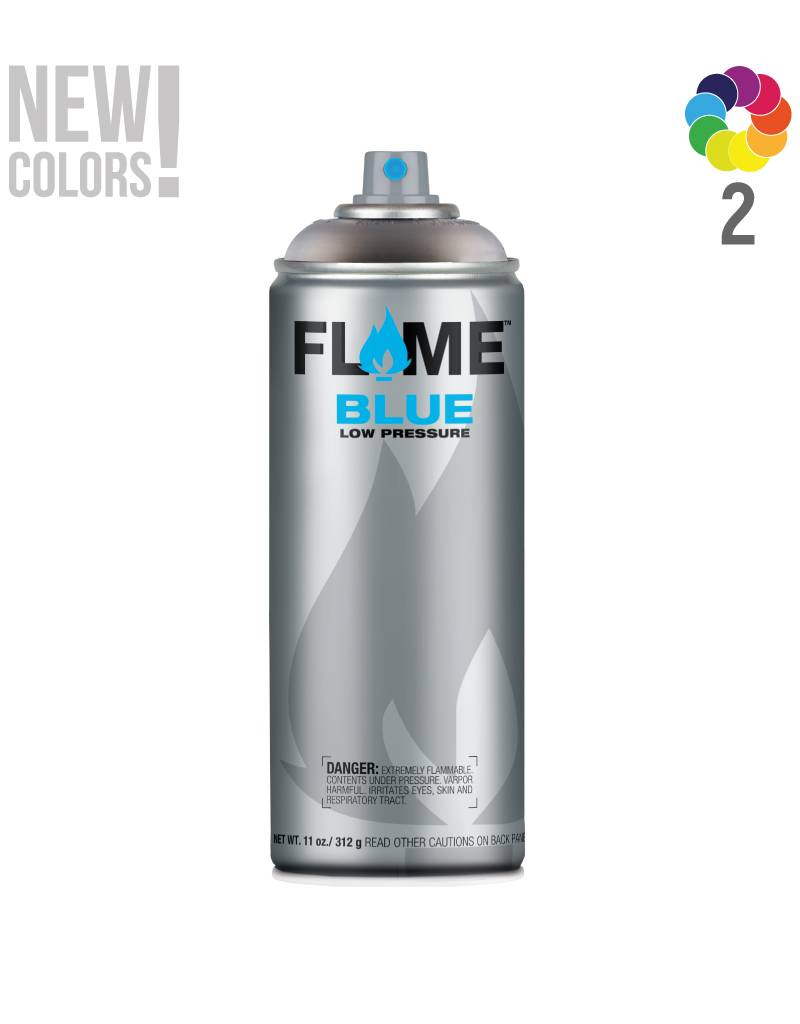Flame BLUE Transparent 400ml Sprühdose