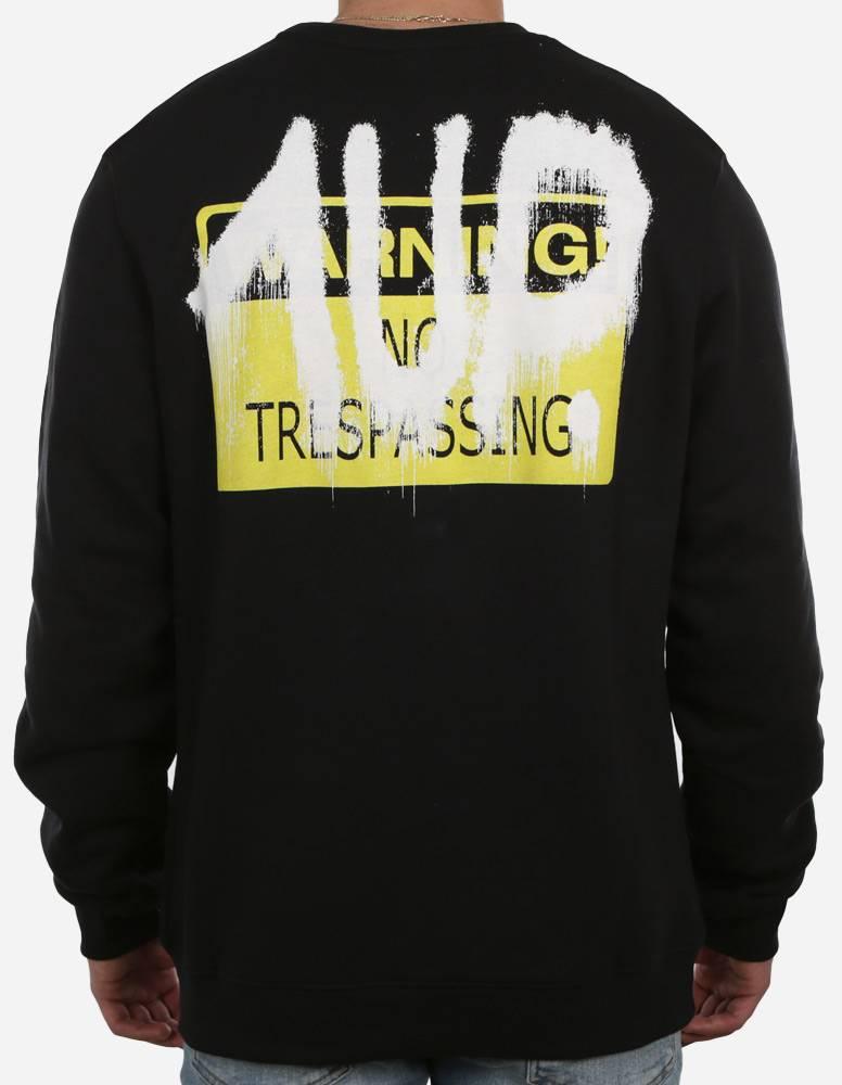 1UP No Trespassing Sweater black