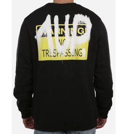 1UP No Trespassing Sweater black