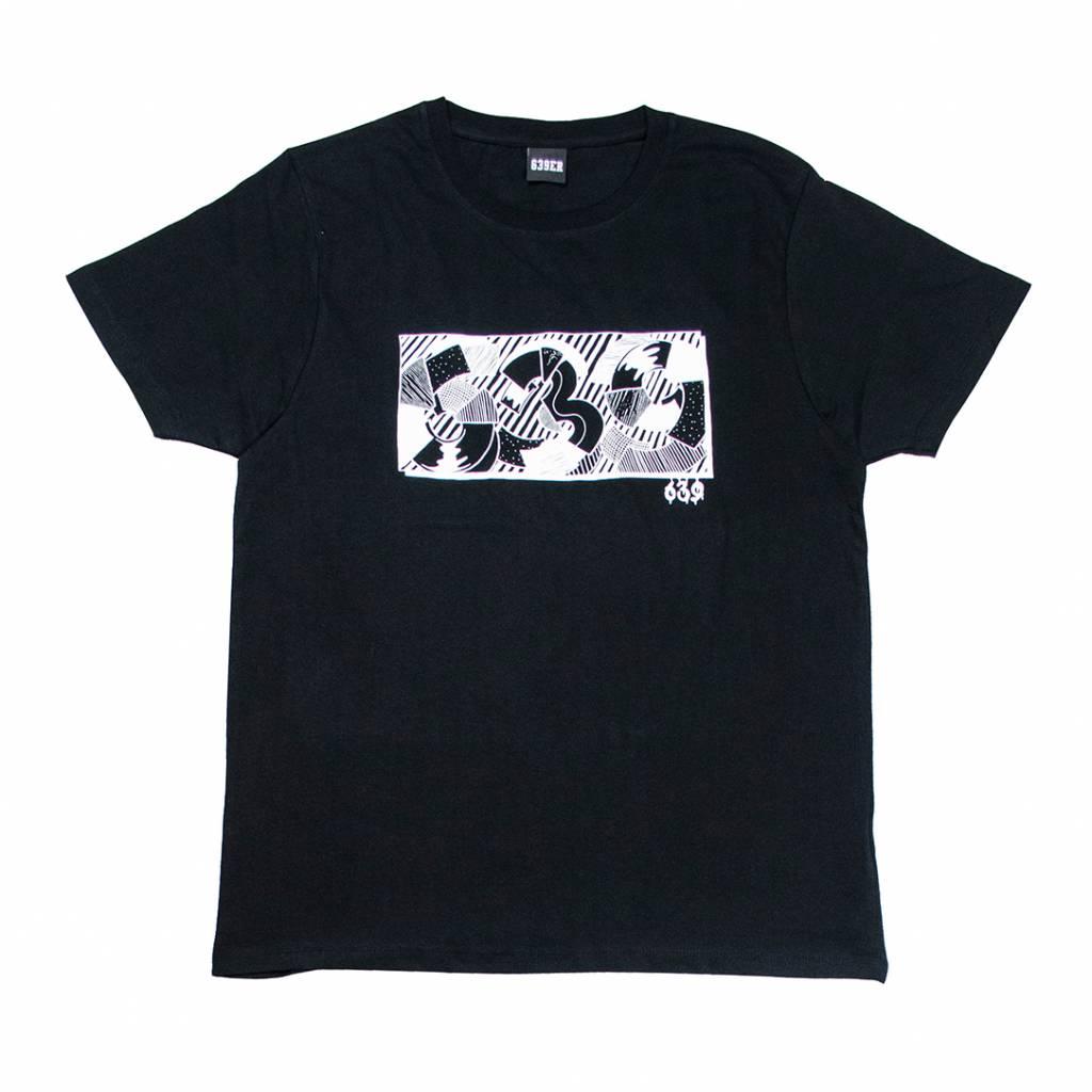 639ER INVERSIVE TEE black/white