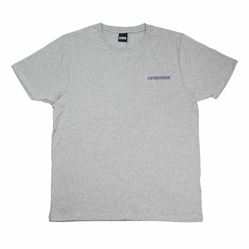 639ER COLLEGE TEE heather grey/multicolor