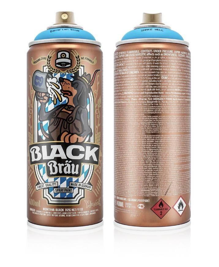 "Montana Cans ""Montana Black Bräu"""