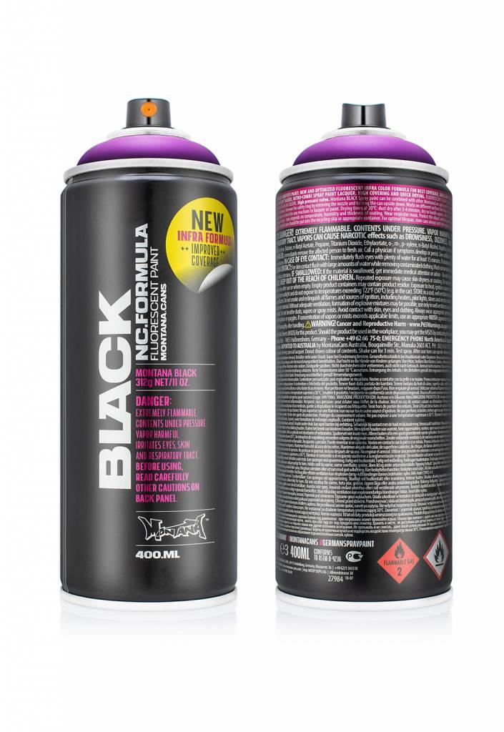 Montana BLACK Infra (Neon) 400ml Sprühdose
