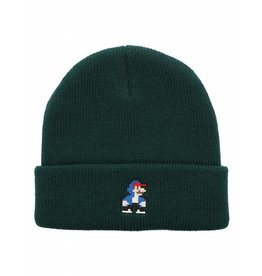 Iriedaily 8 Bit Dude Beanie [hunter]