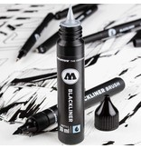 Molotow Blackliner Brush & Refill Blister Marker Set