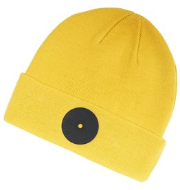 Mr. Serious Yellow Super Fat Beanie gelb