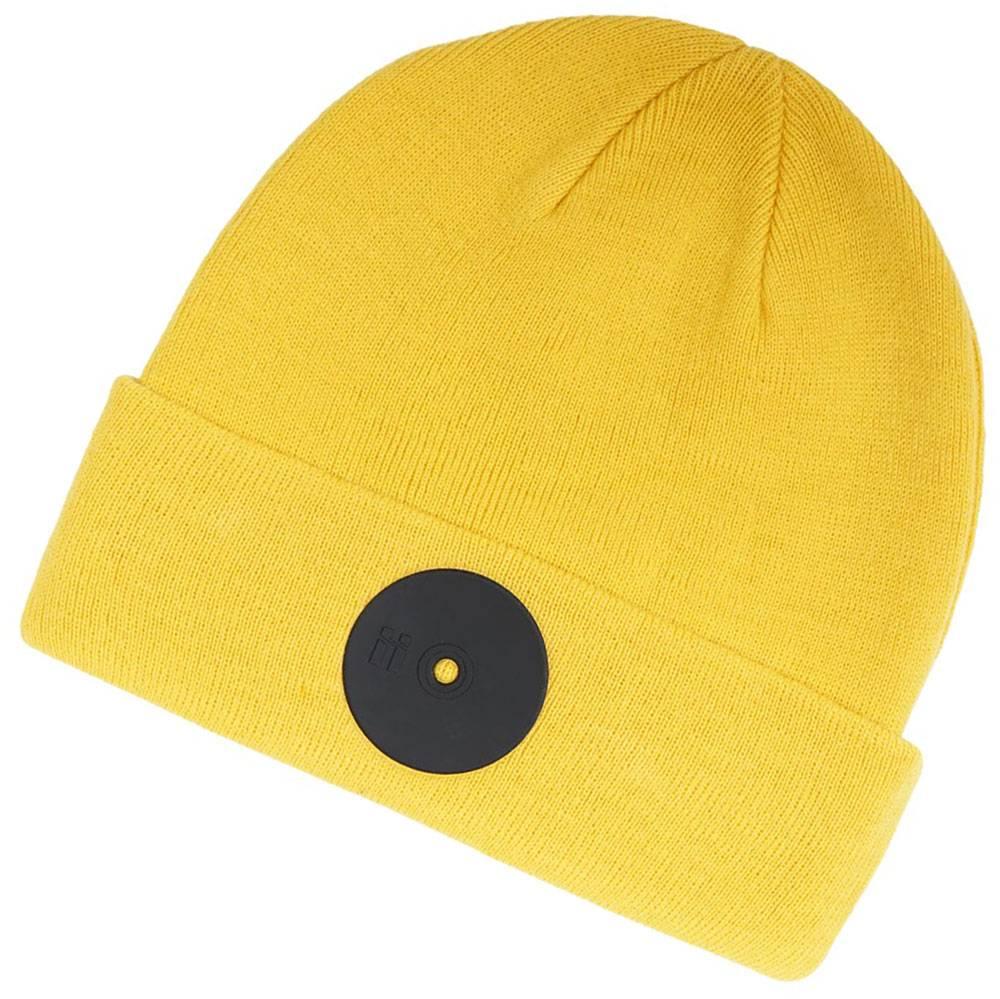 Mr. Serious Yellow Super Fat Beanie gelb