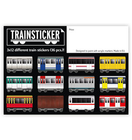 Underpressure Train Set A7 36 pcs Sticker