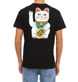 Iriedaily Bye Bye Cat Tee - black