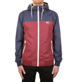 Iriedaily AUF DECK JACKET - navy red