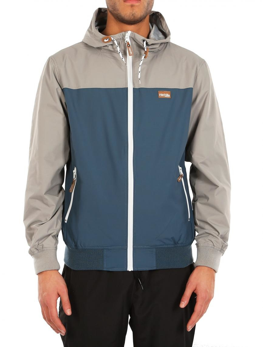 Iriedaily AUF DECK JACKET greyblue