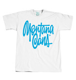 Montana T-SHIRT TAG BY SHAPIRO white