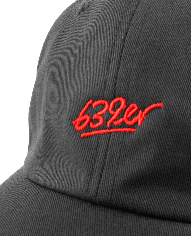 639ER SCRIPT DAD CAP black