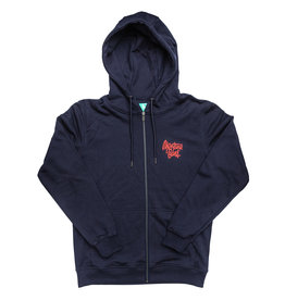Montana CANS ZIP HOODY TAG BY SHAPIRO - Navy