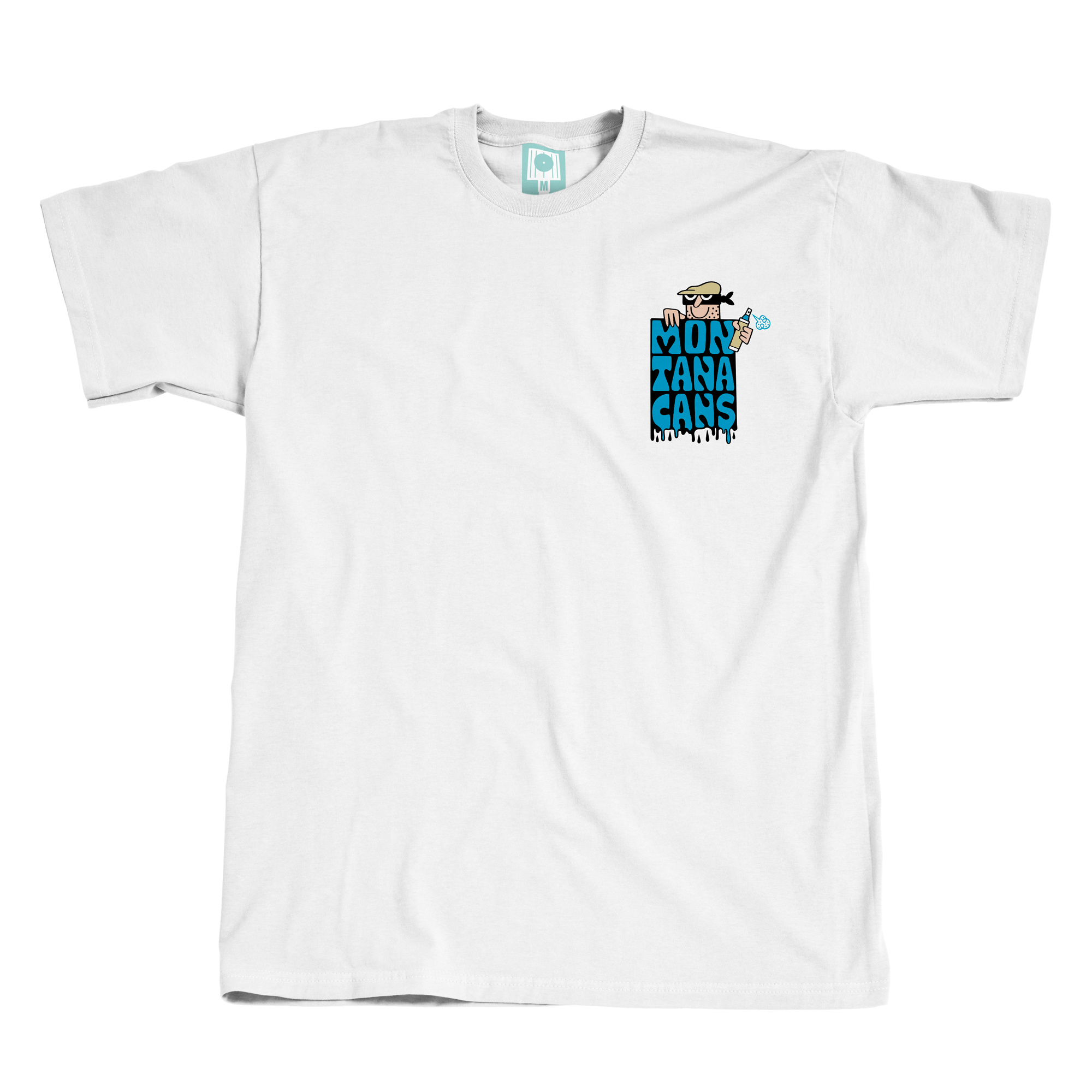 Montana CANS T-SHIRT Exterior Painters BY 45RPM - White