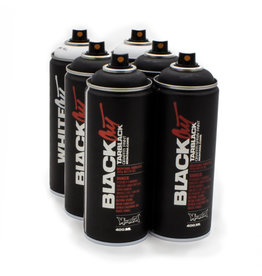 Montana BLACK 400ml Set WHITEOUT - BLACKOUT