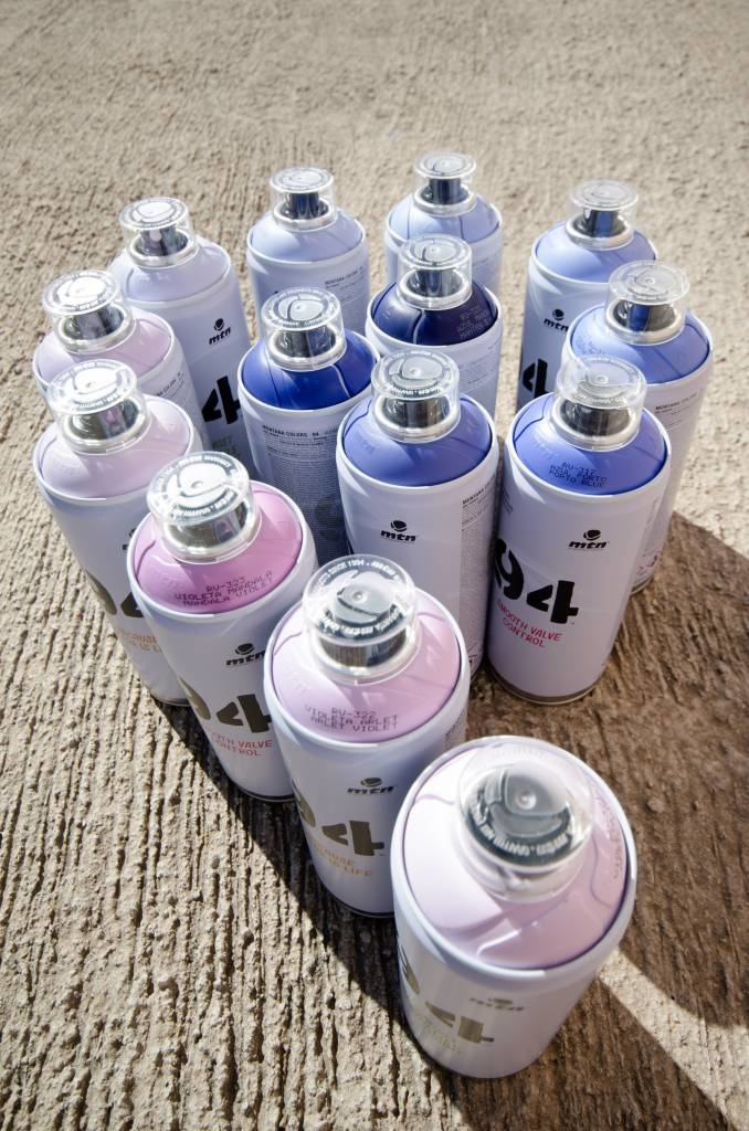 MTN Colors MTN 94 400ml Set schwarz - weiss