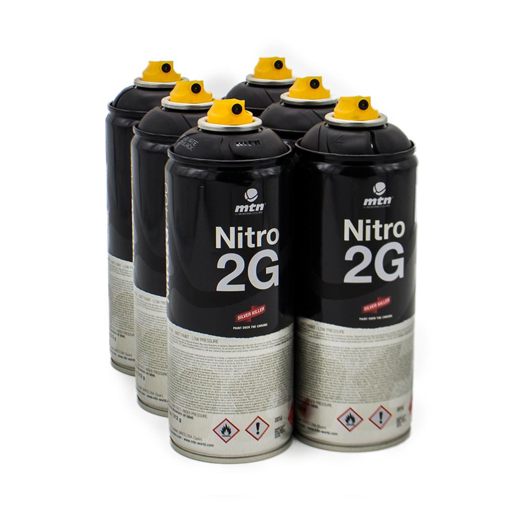 MTN Colors MTN Colors NITRO 2G 400ml Set